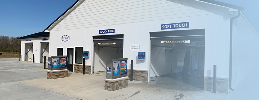 Car Wash designed, built, and equipment installed by Tri State Car Wash Solutions